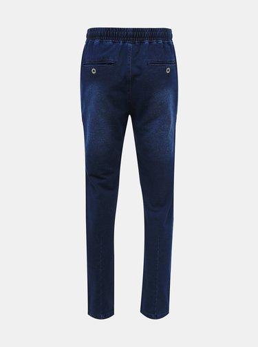 Tmavomodré pánske nohavice SAM 73