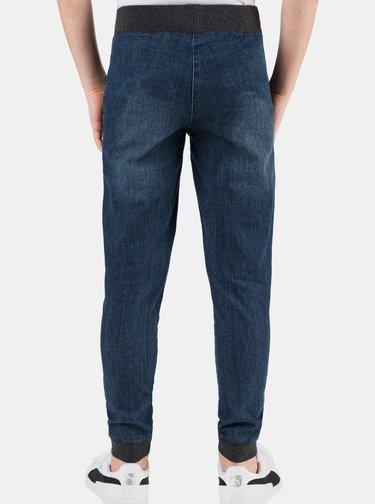 Tmavomodré chlapčenské nohavice SAM 73