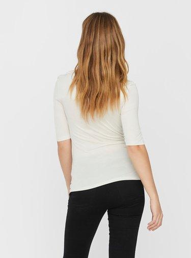 Biele basic tričko VERO MODA Mette