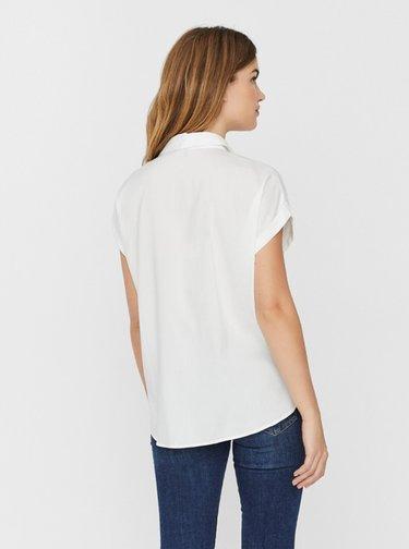 Biela košeľa VERO MODA Tanya