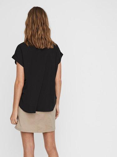 Čierna košeľa VERO MODA Tanya