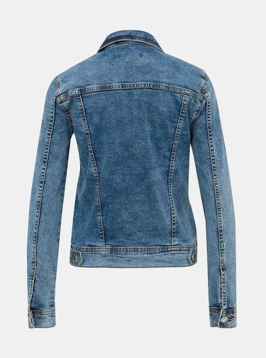 Modrá rifľová bunda Jacqueline de Yong Faria