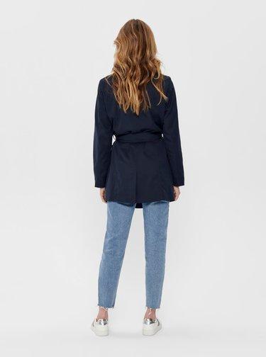 Tmavě modrý kabát ONLY Valerie