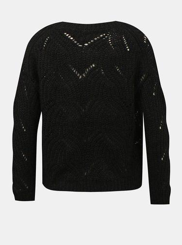 Čierny dámsky sveter Only