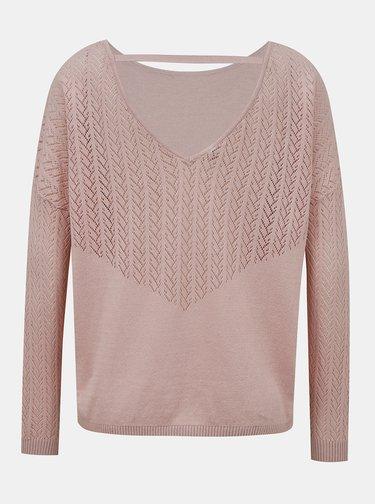 Ružový sveter ONLY Eden