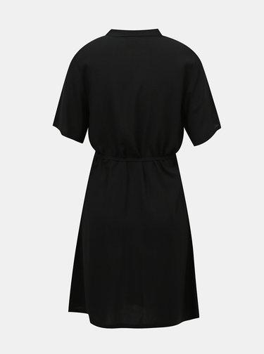 Černé košilové šaty ONLY