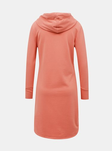 Růžové mikinové šaty ONLY