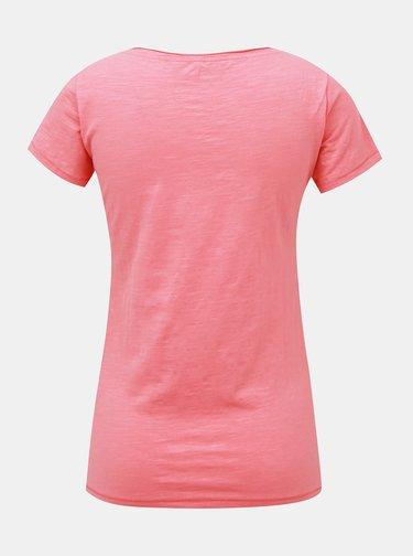 Růžové dámské tričko Hannah