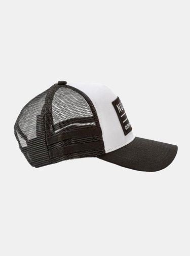 Čierno-biela pánska šiltovka NUGGET Slope
