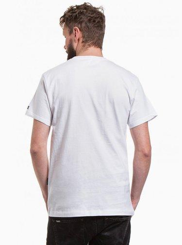 Bílé pánské tričko NUGGET Biscuit