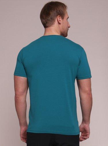 Modré pánske tričko s potlačou LOAP Anton