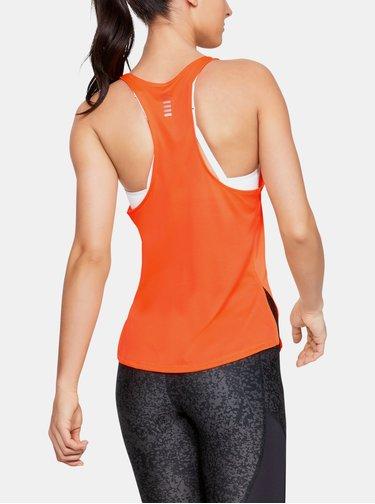 Oranžové dámské tílko Speed Stride Under Armour