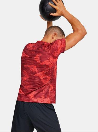 Červené pánské tričko Rush Under Armour
