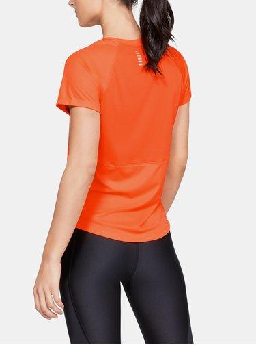 Oranžové dámské tričko Speed Under Armour