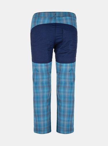 Modré dětské kostkované kalhoty LOAP Napos