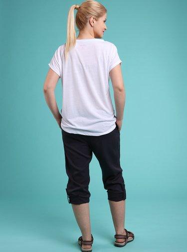 Tmavě modré dámské 3/4 kalhoty LOAP Nalis
