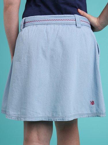 Světle modrá dámská sukně LOAP Nene