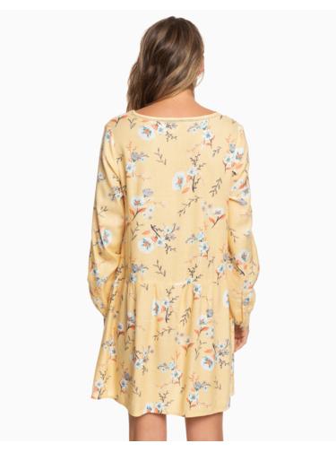 Žlté kvetované šaty Roxy