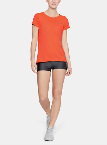 Oranžové dámské tričko HeatGear Under Armour