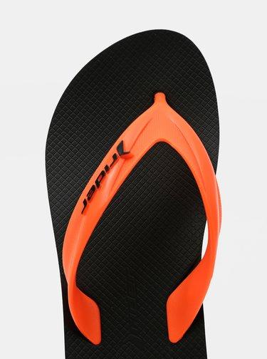Oranžové pánské žabky Rider