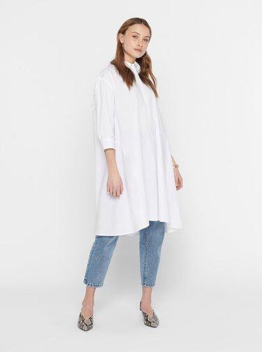 Bílé košilové šaty Jacqueline de Yong