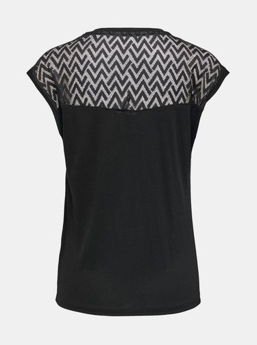 Čierne tričko ONLY