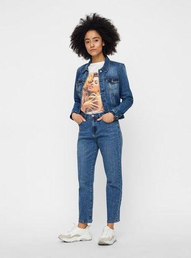 Tmavě modrá džínová bunda Noisy May