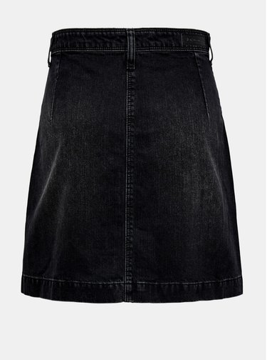 Čierna rifľová sukňa Jacqueline de Yong