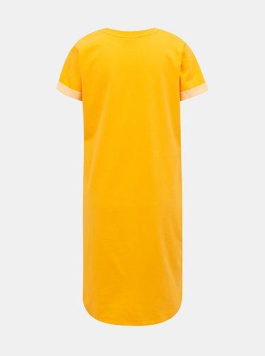 Žlté basic šaty Jacqueline de Yong