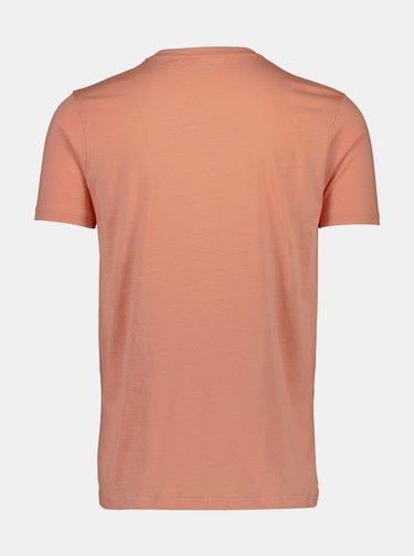 Růžové tričko s potiskem  Shine Original