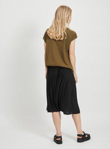 Čierna plisovaná sukňa VILA