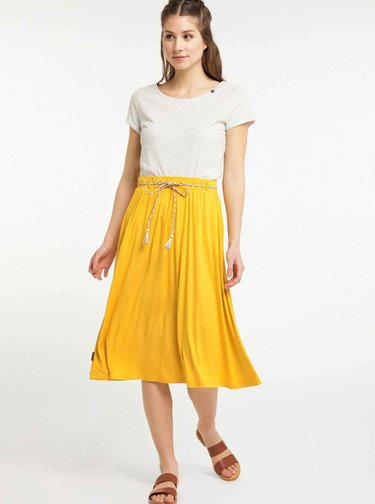 Hořčicová sukně Ragwear Reikko
