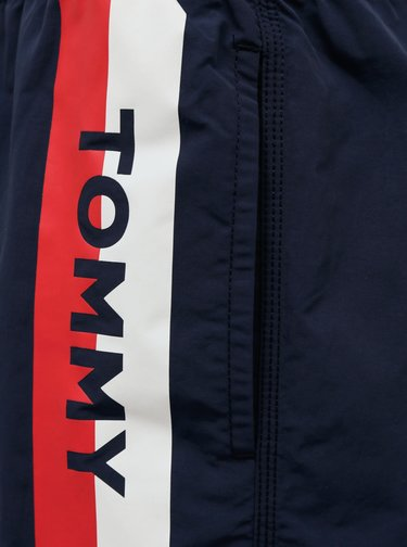 Tmavě modré pánské plavky Tommy Hilfiger