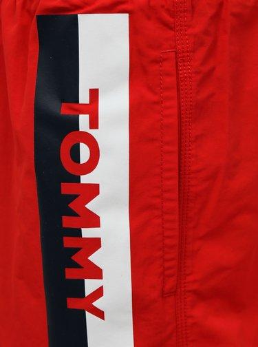 Červené pánské plavky Tommy Hilfiger