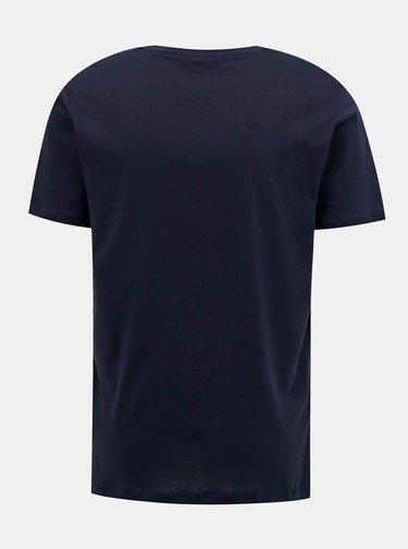 Tmavomodré pánske tričko Tommy Hilfiger