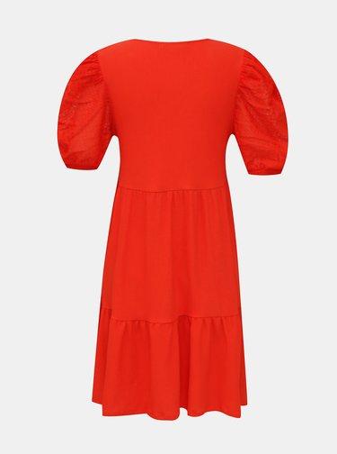 Červené volné šaty Mango Alice