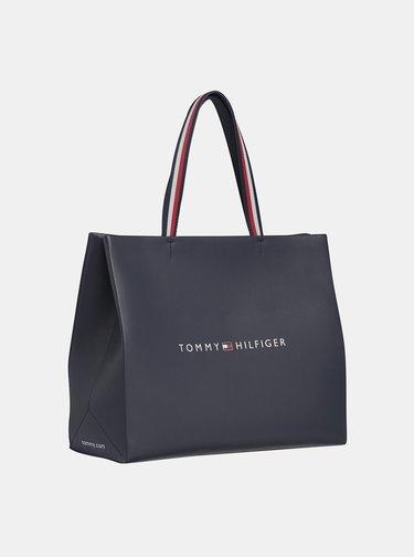 Tmavomodrý shopper Tommy Hilfiger