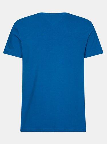 Modré pánske basic tričko Tommy Hilfiger
