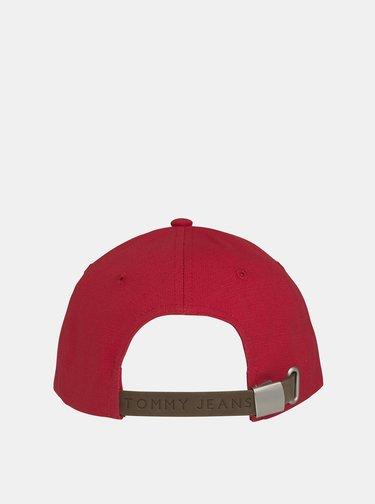 Červená dámska šiltovka Tommy Hilfiger