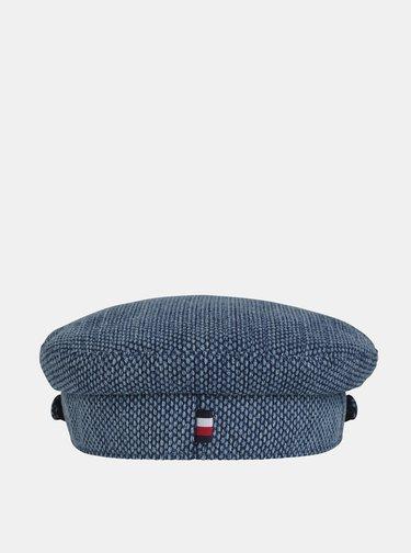 Modrá kapitánská čepice Tommy Hilfiger