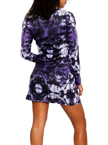 Culito from Spain fialové šaty Nina Simone