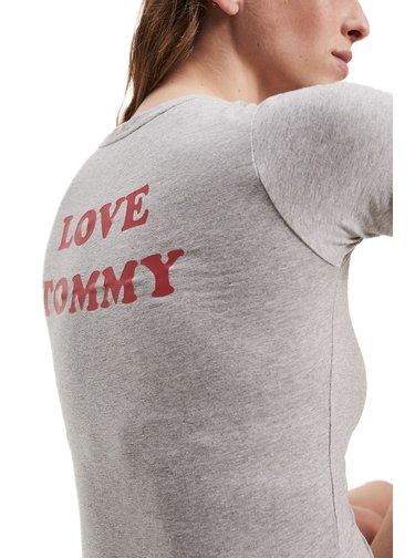 Tommy Hilfiger šedé body TEE Body