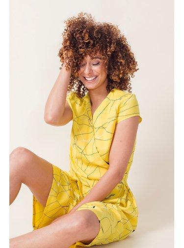 SkunkFunk žluté šaty Eztizen