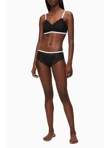 Čierna krajková podprsenka Calvin Klein Underwear