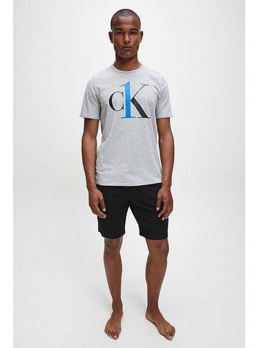 Šedé pánske tričko Calvin Klein Jeans