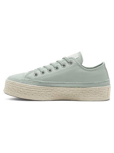Converse mentolové tenisky Chuck Taylor All Star Trail to Cove Espadrille