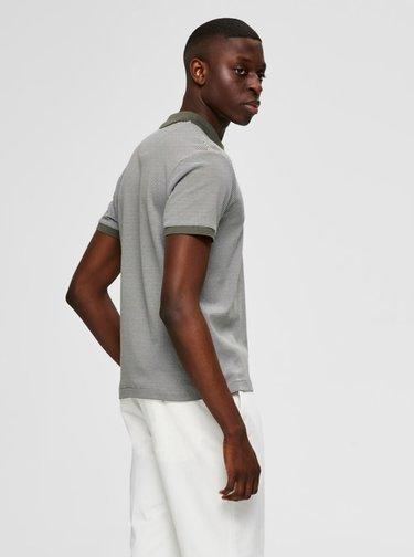 Tricouri polo pentru barbati Selected Homme - gri