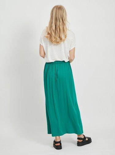 Zelená maxi sukňa VILA Suvita