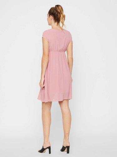 Ružové tehotenské šaty Mama.licious Yolanda