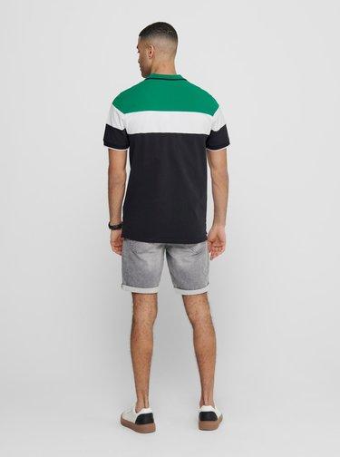 Zelené polo tričko ONLY & SONS Kahlil